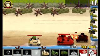 ARMY WARS DEFENSE 2 iPhone game play video