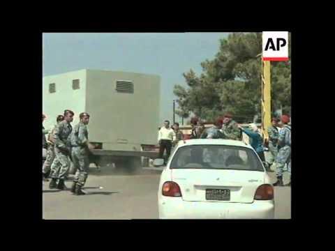 LEBANON: BEIRUT: 7 PEOPLE INJURED IN PRISON RIOT