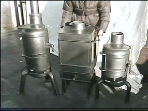 Introduction on how to make a solid fuel burning stove for How to make a small stove