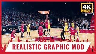 🎨 NBA 2K18 - REALISTIC GRAPHIC MOD Reshade 3.0 (Download) - 4K