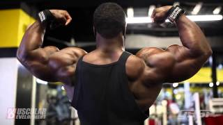 Brandon Curry - Shoulders and Arms Workout - Part 1 HD !!!