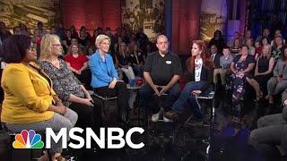 FLASHBACK: Professor Elizabeth Warren Faces Off Against Sen. Joe Biden | All In | MSNBC