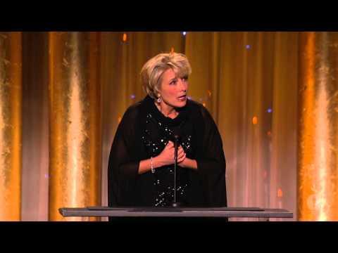Emma Thompson honors Angela Lansbury at the 2013 Governors Awards