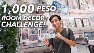 1,000 Peso ROOM DECOR Challenge (Kaya ba?!)