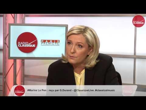 1 ère partie de l'interview de Marine Le Pen (19/04/2016)