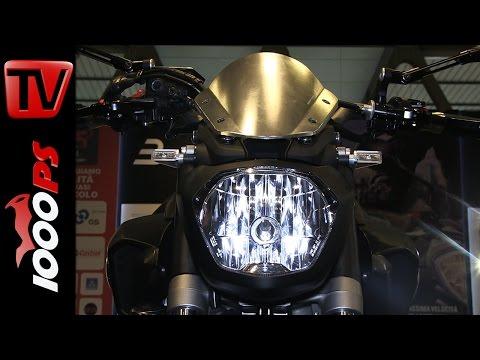 Rizoma Yamaha MT-07   Motorradzubehör 2015