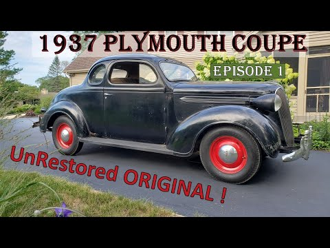 Barn Find! - 1937 Plymouth Coupe UNBELIEVABLE Original and Un-Restored! Episode 1 #barnfind