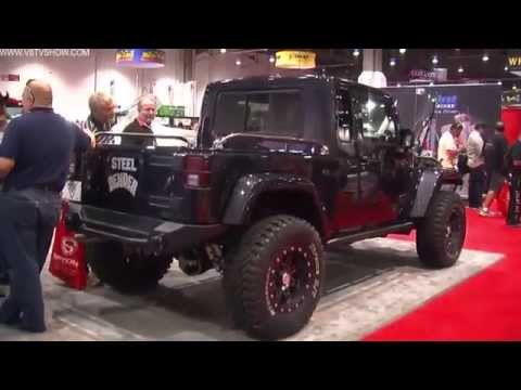 2012 V8TV SEMA VIDEO COVERAGE - VWERKS 392 HEMI JK8 JEEP AND MORE!