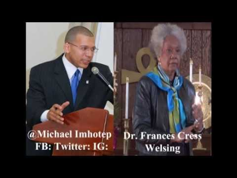 "Dr. Frances Welsing - ""Donald Sterling, SCANDAL & A Culture of European White Supremacy"" 5-15-14"