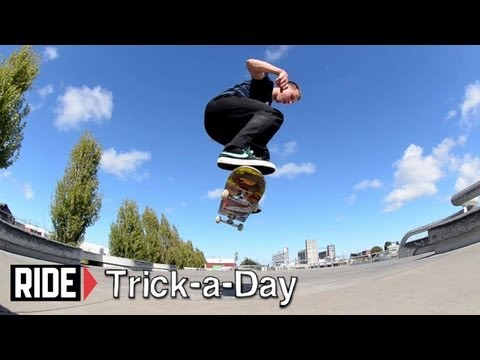 How-To Switch Kickflip With Travis Erickson - Trick-a-Day