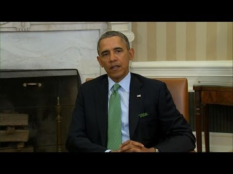 Obama still hopes for 'diplomatic solution' on Crimea