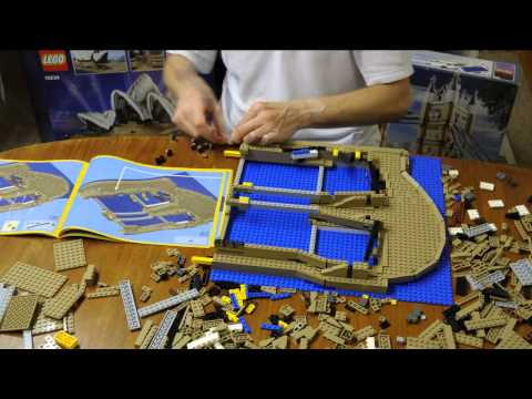 LEGO 10234 Sydney Opera House Time-Lapse Build