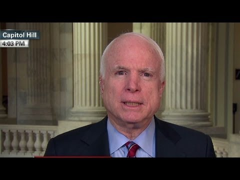 McCain 'disappointed' with administration'...