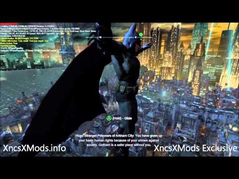 Batman Arkham City Mods V1.5 - Flying Mod. Debug. FoV Mods. Menu Mods. Credits Mods