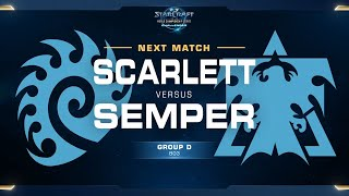 Semper vs Scarlett TvZ - Group D - WCS Challenger NA Season 2