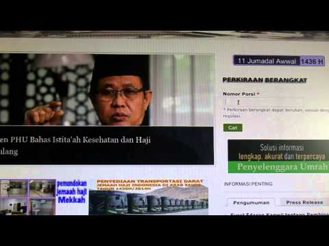 Youtube info haji kemenag