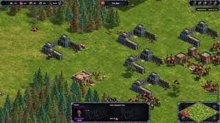 Age of Empires  Definitive Edition 1 vs 7 hardest AI random map