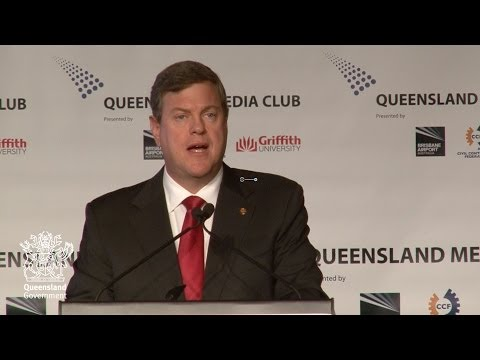 Queensland Media Club - Tim Nicholls