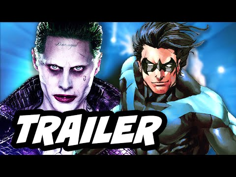 Suicide Squad Trailer Nightwing and Tattooed Man Breakdown