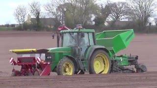 Potato Planting  with a Mixed Fleet