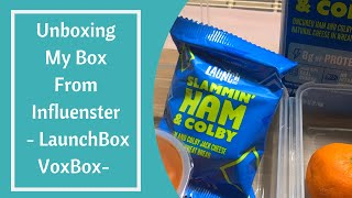 Unboxing My Box From Influenster - LaunchBox VoxBox-
