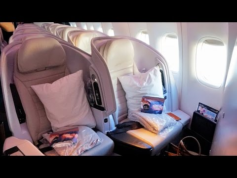 Air New Zealand Premium Economy Spaceseat tour in 4K