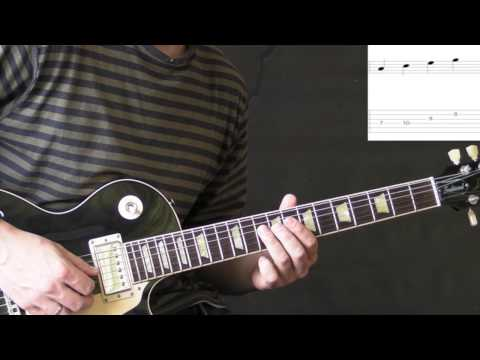 Amazing Extended Min7 arpeggio (Slayer - Seasons In The Abyss) Guitar Lesson