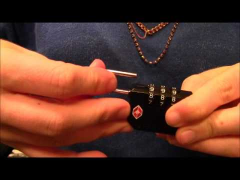 samsonite tsa007 lock reset instructions