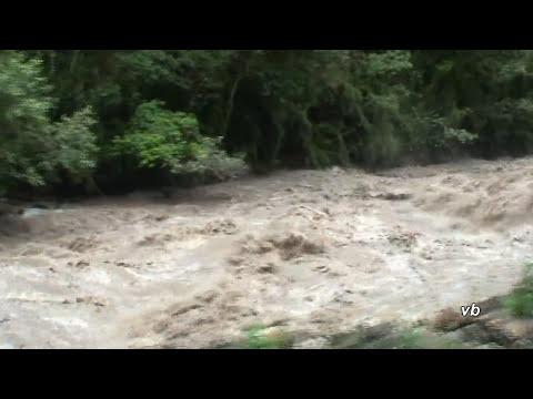 The raging Urubamba River