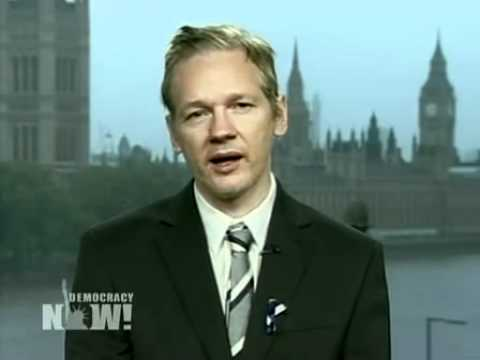 WikiLeaks Founder Julian Assange on Iraq War Logs (Part 1 of 4)