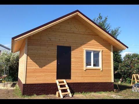 Каркасный домик 6х6 фото