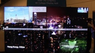 Intel's Ivy Bridge 4K Display Demo - October Release Date