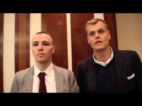 ADAM ETCHES & RICHARD POXON TALK TO IFL TV AHEAD OF SERGEY KHOMITSKY CLASH IN SHEFFIELD - INTERVIEW