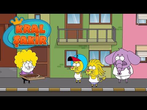 KRAL ŞAKİR: Yemek Savaşı - 4. Bölüm (Çizgi Film)