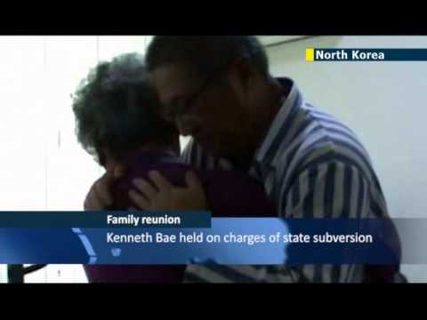 American mother visits jailed Christian missionary son Kenneth Bae in North Korean prison