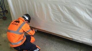 Fitting Modular Building Shrink Wrap Transport Bags