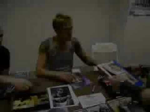 on 6 / 8 / 08 I met Jason Mewes, from the great line of Kevin Smith movies