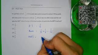 021 PSLE Math Teacher Jay