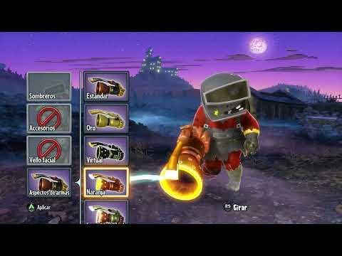 Plantas VS Zombis: Garden Warfare Personalización/Custom Clase Ingeniero Zombi