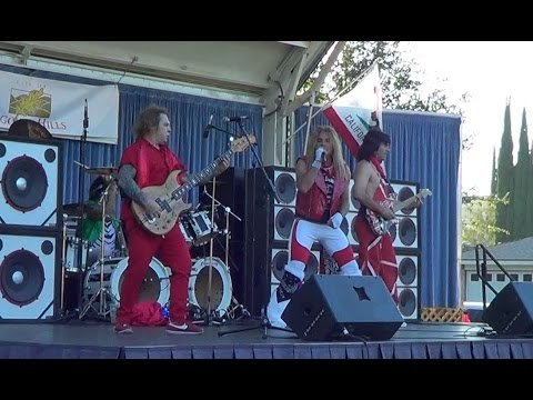 Fan Halen - So This is Love - Concert at the park - Agoura Hills, CA