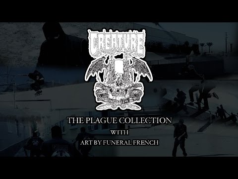 The Plague Collection by Creature Skateboards