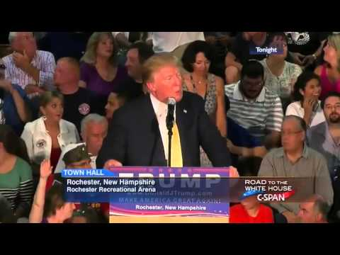 Donald Trump Dismisses Climate Question from LCV