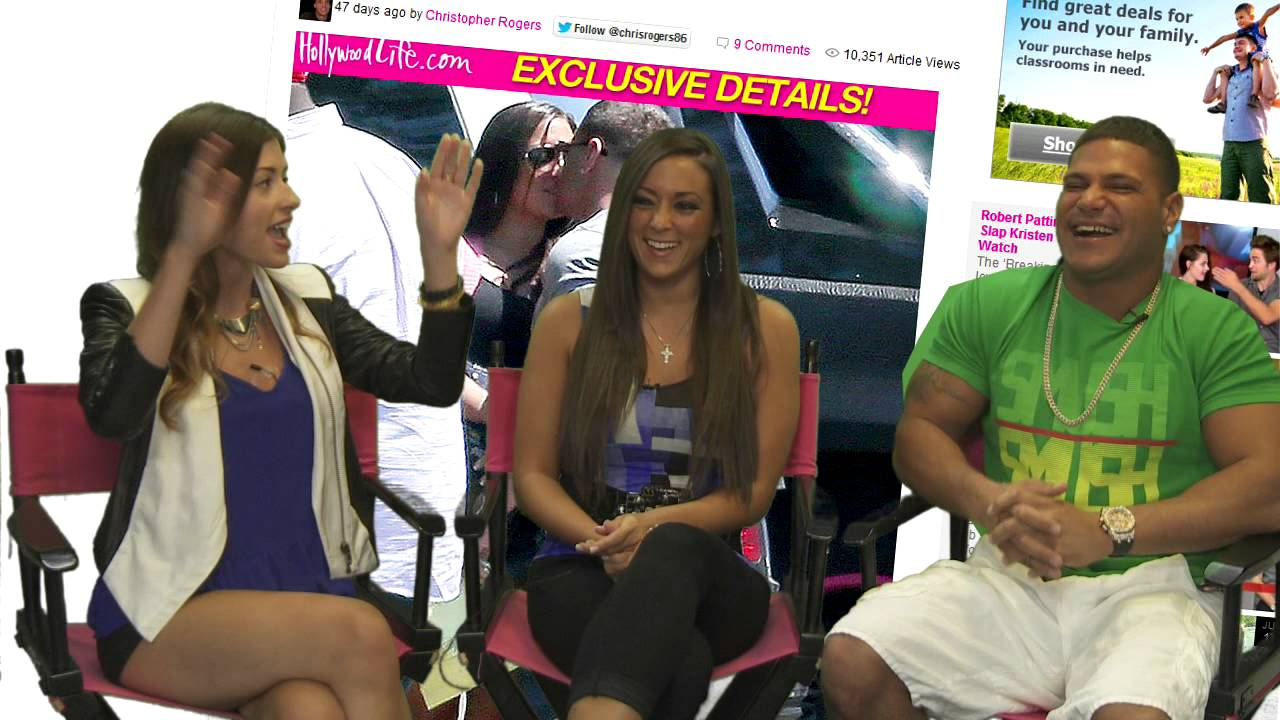 ronnie jersey shore steroids interview