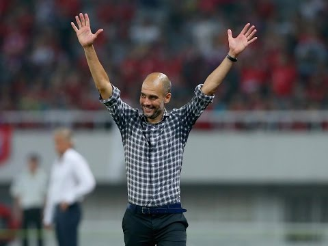 Pep Guardiola - Pep Guardiola to join Manchester City Premiere League