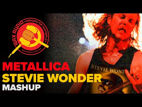Sad But Superstitious (Stevie Wonder vs Metallica Mashup by Wax Audio)