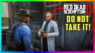 If You Take This From The Scientist In Red Dead Redemption 2 The STRANGEST Thing EVER Will Happen!