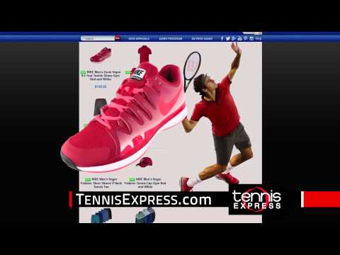 Tennis Express 30 Sec Commercial | Roger Federer and Maria Sharapova