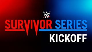 Survivor Series Kickoff: Nov. 19, 2017