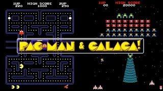 My Pac Man And Galaga Gameplay Pac Man Plug And Play