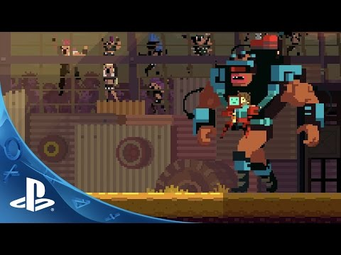 Super Time Force Ultra - PlayStation Experience Trailer | PS4, PS Vita